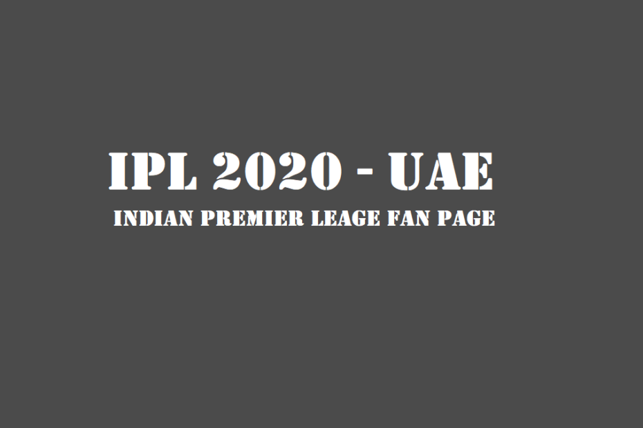 IPL 2020 UAE TICKET NEWS
