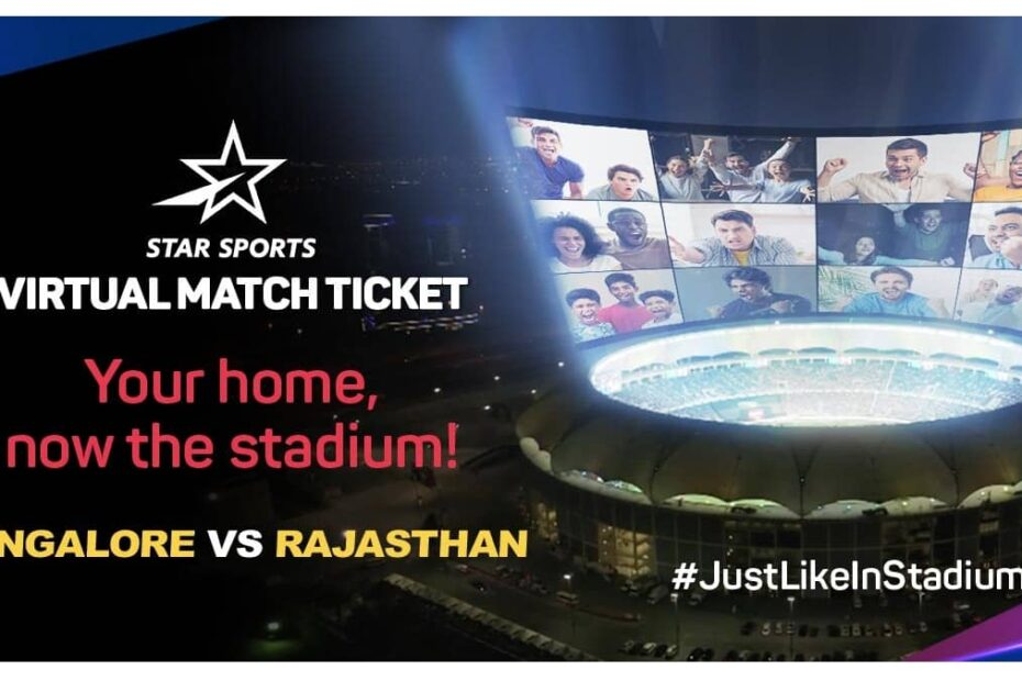 IPL BookMyShow Star Sports Virtual Cricket