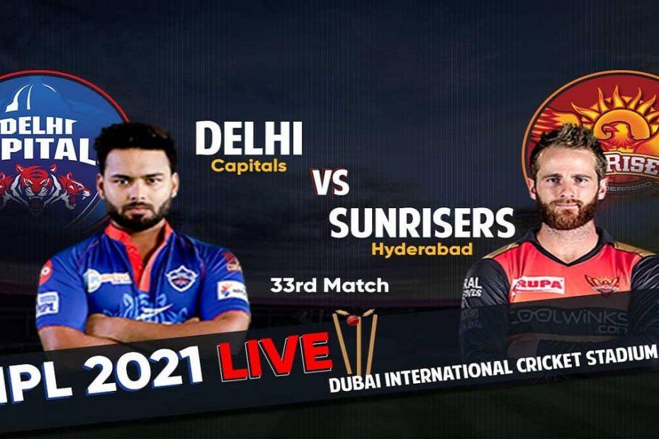 IPL Live DC Vs SRH