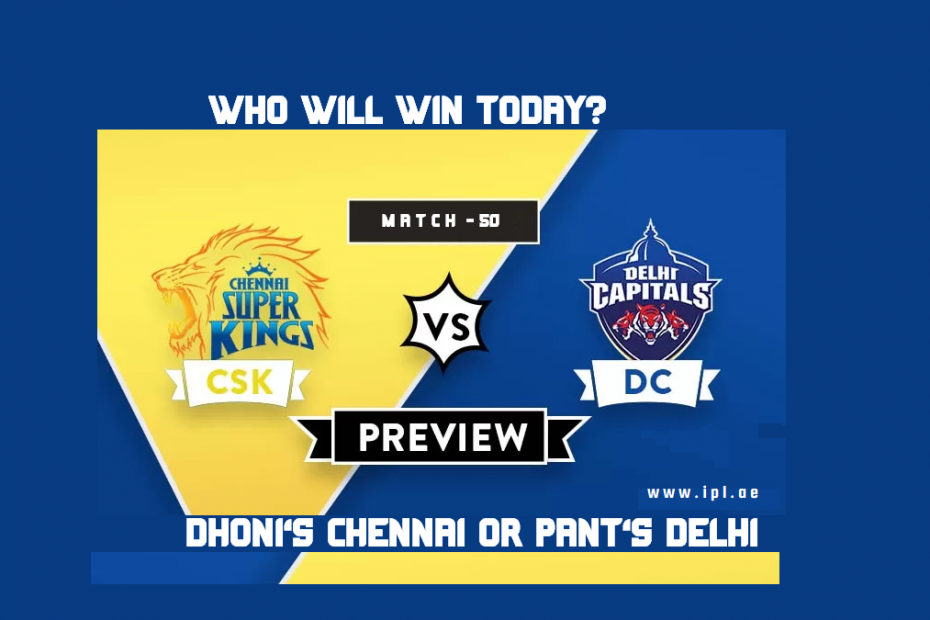 DC Vs CSK Who Win Today