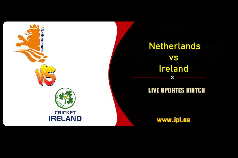 Ireland Vs Netherland in Abu Dhabi